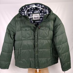 Levi's Men's Performance Hooded  Puffer Jacket XL